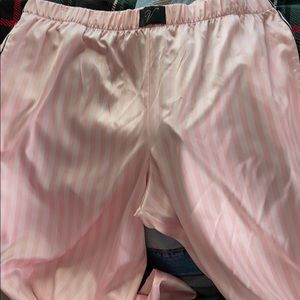VS Satin Pink pajamas bottoms